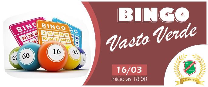 BINGO VASTO VERDE  - 16/03