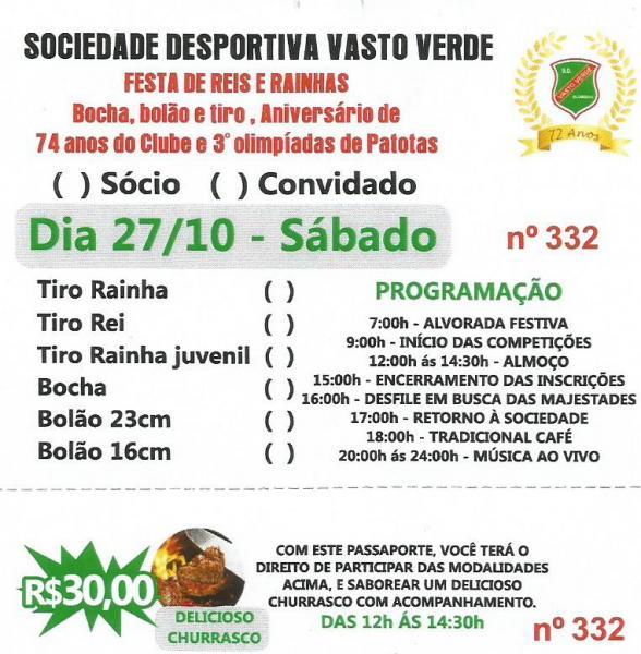 FESTA DE REIS E RAINHAS 2018