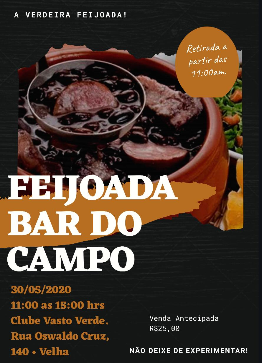 FEIJOADA BAR DO CAMPO 30/05/2020