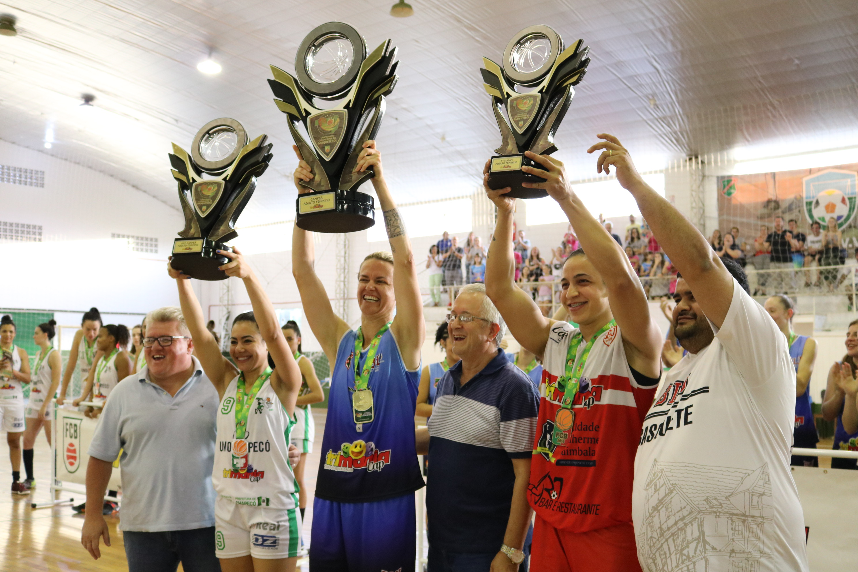 Blumenau conquista o bicampeonato Estadual Adulto Feminino