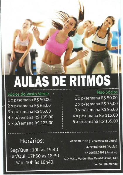 AULAS DE RITMOS