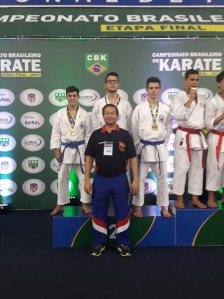 RESULTADO: Campeonato Brasileiro de Karatê 2017 - Salvador- BA