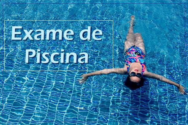 Exame Médico Piscina