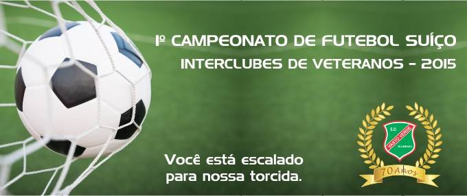 Rodada Campeonato Futebol VETERANOS