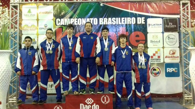 RESULTADO: Campeonato Brasileiro de Karatê - Etapa Classificatória (LONDRINA-PR)