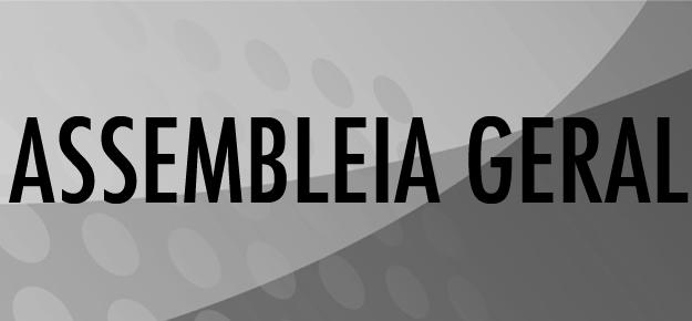 SOCIEDADE DESPORTIVA VASTO VERDE EDITAL DE CONVOCAÇÃO  ASSEMBLÉIA GERAL ORDINÁRIA
