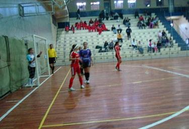 Estréia Futsal Feminino