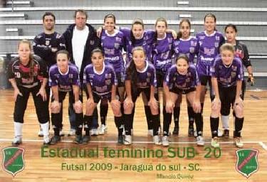 Futsal Feminino Classifica para Taça Brasil 2010