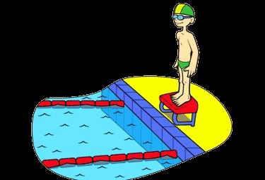 Novos horários natação infantil.