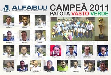 Alfablu - Campeã 2011