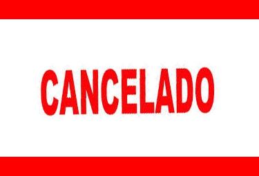 Cancelado !