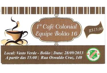 Café Colonial Equipe Bolão 16